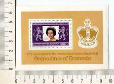 36702) GRENADA Grenadines 1978 MNH** Silver coronation s/s