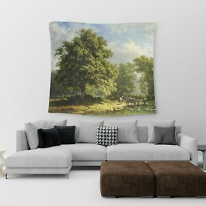 Large Wall Hanging Tapestry Trees Cotton Print Art Bedspread Throw Cover UK