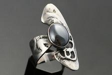 KAP Design Ring groß Silber 925 S Hämatit Denmark Vintage Skandinavien 60er 70er
