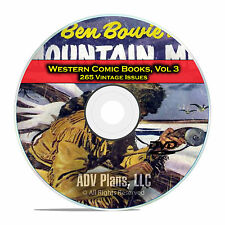 Western Comic Books, Vol 3, Gene Autrys Champion, Outlaws, Golden Age DVD D61