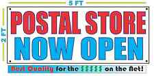 Postal Store Now Open Banner Sign New Larger Size Best Quality for the $