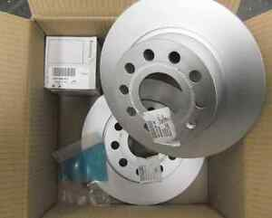 Genuine VW T5 T5.1 Caravelle 294mm REAR Brake Discs & Pads 7H0615601B 7H0698451C