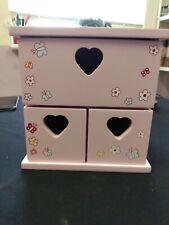 Girls Pink Drawers - Jewellery Box