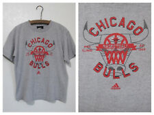 Chicago Bulls T-Shirt NBA Basketball Adidas Youth Gray