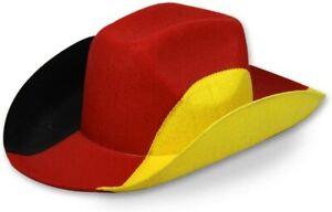 Amscan - Germany Cowboy Hat World Cup Em Fan Mile Anfeuern Football