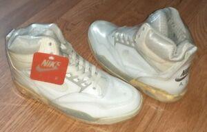 1990 Nike Air Solo Flight White