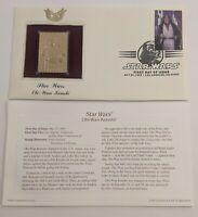 Star Wars First Day Issue Obi-Wan Kenobi 24k Replica Gold Stamp May 25th 2007