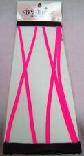 New Bras N Things Pink Narrow Straps for Strapless Caged Bandeau Contour Bra