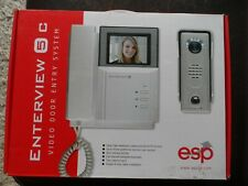Enterview 5C Colour Video Door Entry System With Built In Intercom System BNIB