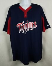 Majestic Cool Base Minnesota Twins Jersey Pullover Mlb Mens 2Xl Baseball Shirt