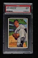 1952 Bowman - Saul Rogovin - #165 - PSA 7 - NM