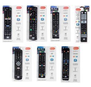 MANDO UNIVERSAL PARA TELEVISION TV MARCAS INDIVIDUALES SIN INSTALACIÓN GARANTIA