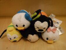Disney Tsum Tsum Mini Plush Mickey and Friends Expression Lot Set of 5 - Pluto
