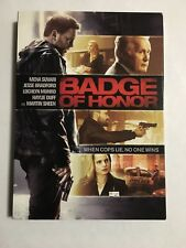 Badge of Honor DVD, New + Fast Shipping