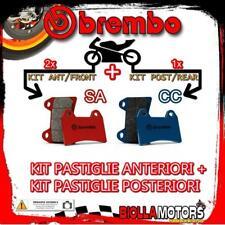 BRPADS-34958 KIT PASTIGLIE FRENO BREMBO HONDA VARADERO ABS 2004- 1000CC [SA+CC]