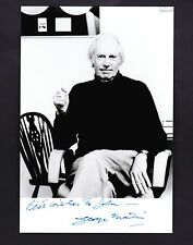 George Martin  Autograph , Original Hand Signed Photo