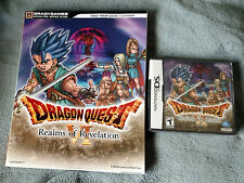 Dragon Quest VI: Realms of Revelation (Nintendo DS, 2011) Game & Guide  NEW!!