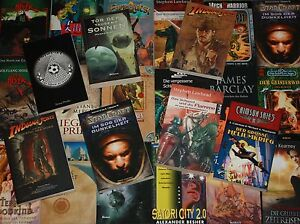 Roman-Abenteuer-Science Fiction-Thriller-Cyberpunk-Vampire-Mängelexemplare