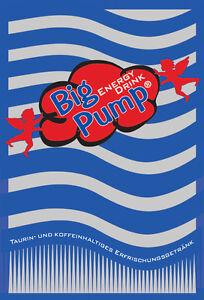 Big Pump - Energy Drink - Postmixsirup - Postmix - Sirup - 20l BiB (6,00€/L)