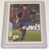 Andres Iniesta Barcelona Spanish Soccer Football Card Mundicromo 2004/05 #43