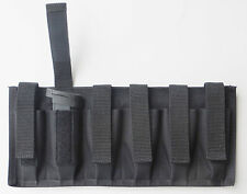 SIX PACK Mag Pouch for S&W M&P Shield in 9mm or 40 Up to 8 -10 rd extend Mags