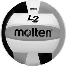 Molten L2 IVU-HS Volleyball - Black/White/Silver