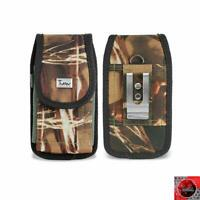 for iPhone 8 Plus Camouflage Nylon Holster Pouch Belt Clip Fit w/ Otterbox Case