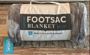 LoveSac Footsac Blanket Silver Liger Phur (limited edition) Supersac New