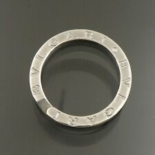 Authentic BVLGARI Key Ring Holder 925 Sterling Silver #f35079