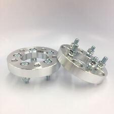 "2x Wheel Adapters | 5x100 to 5x127 (5X5) | 12x1.5 studs | 25mm 1.0"" Inch"