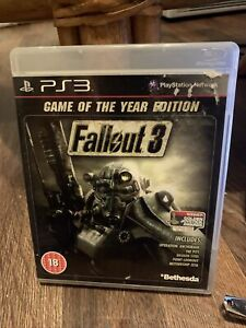 Fallout 3 Game of the Year Edition PS3 PAL UK Rare