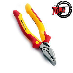 Wiha Industrial 180mm Combination Pliers DynamicJoint & OptiGrip 1000V Insulated