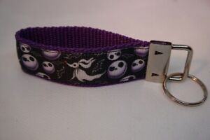 Handgefertigtes Schlüsselband  Jack Skellington Hund Nightmare  ca.10 cm