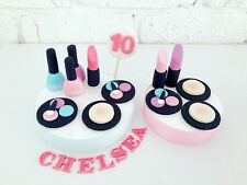 12edible Make Up Toppers Name No:Teen Birthday Make Up Theme Birthday Hens Night