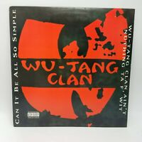 WU-TANG CLAN ~ Can It Be All So Simple / Ain't Nuthing Ta F*** With ~ NM Vinyl