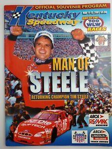 Vintage NASCAR Souvenir Program, Lot of 3. Kentucky Speedway