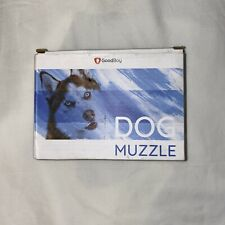 GoodBoy Dog Muzzle Blue/Black Size Large New!