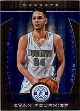 2013-14 Totally Certified Blue Nuggets Basketball Card #142 Evan Fournier /49