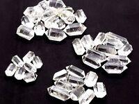 Herkimer Quartz Diamonds Genuine Gemstone 4 Size Choice Reiki Charged Energy