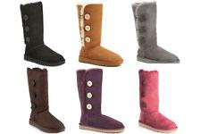 NEW UGG 1873W Bailey Button Triplet II Women's Suede Genuine Winter Boots