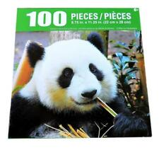 "Giant Panda Bear Eating Bamboo Jigsaw Puzzle 100 Pieces 8.75"" X 11.25"" Piece NEW"