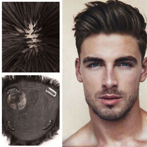 Wig replacement piece, realistic head rotation, men's head replacement piece
