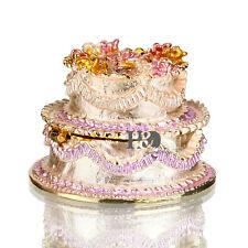 Pink Cake Design Trinket Box Jewelry Ring Holder Birthday Party Favor Decor Gift