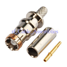 SMB female crimp RG316 RG174 cable 50Ω straight RF connector for FAKRA Connector