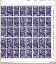 SPAIN COLONIES SAHARA 1961 BIRDS 25c...MINT FULL SHEET