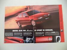 advertising Pubblicità 1997 ALFA ROMEO 146 JUNIOR