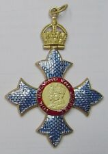 Britain UK Royal Medal Badge OBE Empire Cross Order Knight Service Merit Award K