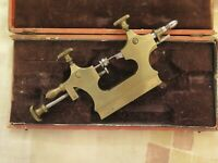 """JACOT"" leathe ANTIQUEׂ (and used) watchmaker TOOL"