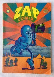 Zap Comix No. 4