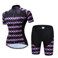Teleyi Summer Cycling Jersey Women Mountain Bike Clothing Quick Dry Sportwear